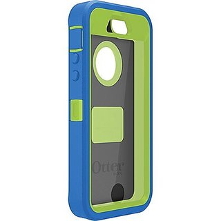 Otterbox Defender Series Case for Iphone 5c Only - Ocean Blue/glow Green