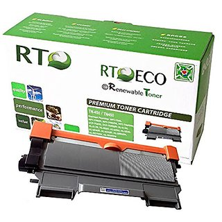 Renewable Toner TN450 Brother TN-450 Compatible Black Laser Toner Cartridge High Yield 2.6k for Brother LaserJet Printer