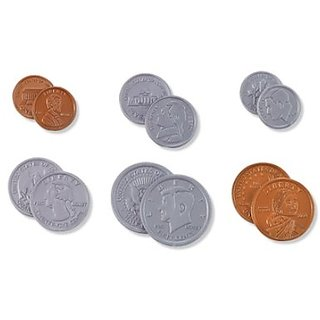 Eureka Learning Playground Hands On Learning, U.S. Coins (487110)