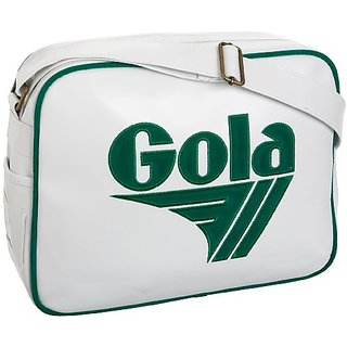 Gola Redford Mkii Shoulder Bag, White/Green