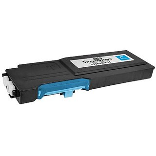Speedy Inks - Compatible Replacement for Dell C2660dn / C2665dnf High Yield Cyan 593-BBBT, 488NH Toner Cartridge for use
