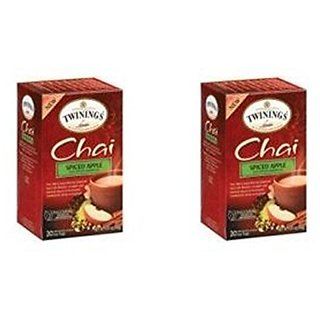TWINING TEA TEA CHAI SPICED APPLE, 20 BG