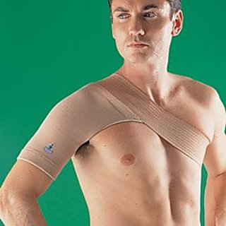 Oppo Medical 4-Way Stretch Right or Left Shoulder Support (Unisex; Natural), X-Large