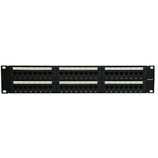 MP Data Systems Cat6 48 Port Patch Panel