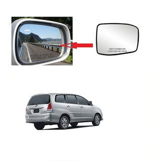 Carsaaz Left Side Sub-Mirror Plate for Toyota Innova Type 1