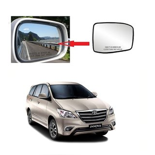 Carsaaz Left Side Sub-Mirror Plate for Toyota Innova Type 2