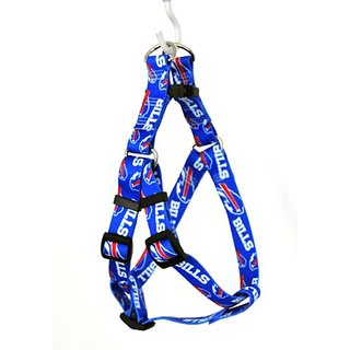 Yellow Dog Design Buffalo Bills Licensed NFL Step-In Dog Harness, Small, 9-Inch by 15-Inch