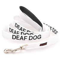 DEAF DOG Dexil Friendly Dog Collars Color Coded Dog Accident Prevention Leash 4ft/1.2m Prevents Dog Accidents By Letting