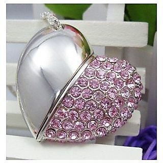 Microware Heart Shape  4GB PenDrive