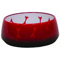 Comfort Pet Products Awesome Food And Water Bowl, Small, Red