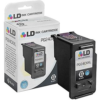LD © Remanufactured Canon PG-240XXL / 5204B001 Extra High Yield Black Ink Cartridge for Canon PIXMA MG and MX Print