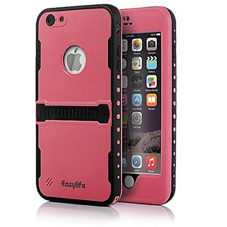 iPhone 6 Plus Waterproof Case,Easylife iPhone 6 Plus Protective Case IP 68 Waterproof Snowproof Shockproof Dirtproof Sta