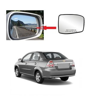 Carsaaz Left Side Sub-Mirror Plate for Chevrolet Aveo