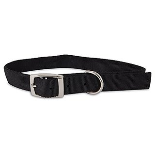 ASPEN PET PRODUCTS 21370 Nylon Dog Collar, 1 by 24-Inch, Black
