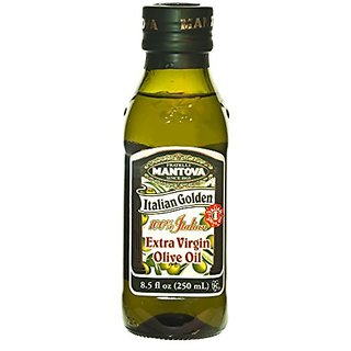 Mantova Italian Golden Extra Virgin Olive Oil 8.5 Oz