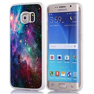 S6 Edge Case, Samsung Galaxy S6 Edge Case Magic Starry Galaxy Hard Unique Designer Slim Pattern Thin Protective Shockpro