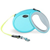 ICode Retractable Dog Leash With Comfort Grip,Supports 10-50 Pound,Best For Small /Medium Size Dogs (M, BLUE)