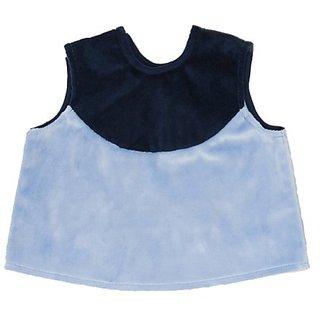 Baby Chaleco Jock Minky Blue - Infant