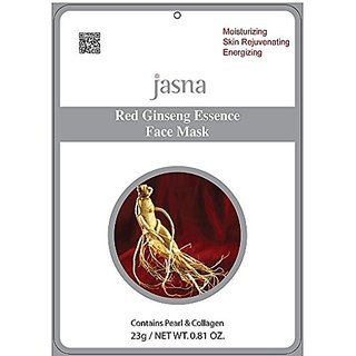 10 Moisturizing Energizing Skin Rejuvenating Red Ginseng Essence Face Masks
