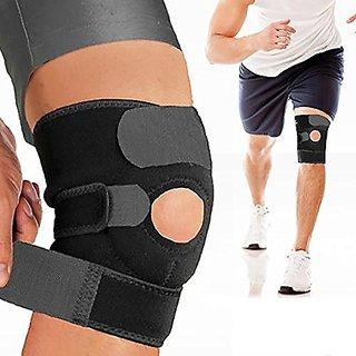 Enhanced Professional Breathable Elastic Knee Brace Support Protector Adjustable Neoprene Knee Wrap