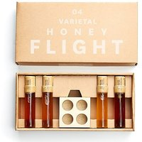 Varietal Honey Flight Consisting Of 4 Cheese Complimenting 1 Ounce Vials, Pure Raw Honey, Natural And Unprocessed, Great