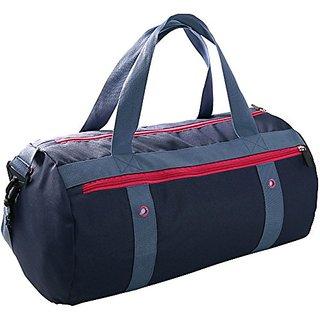 Zoppen Lightweight Sport Gym Duffel Bag Waterproof Outdoor Travel Equipment Navy Blue