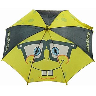 Nickelodeon SpongeBob SquarePants Boys Yellow and Black Umbrella