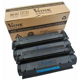 V4INK 2 Pack New Compatible Canon CRG-W/FX-8/S35 (7833A001AA) Toner Cartridge-Black