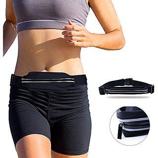 BASSTOP Running Belt Runner Waist Pack Bag Fitness for Sport Exercise, Fitness, Hiking, General Travel Smartphone iPhone