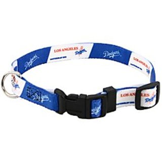 Los Angeles Dodgers Large Adjustable Dog/Cat Collar (Large)