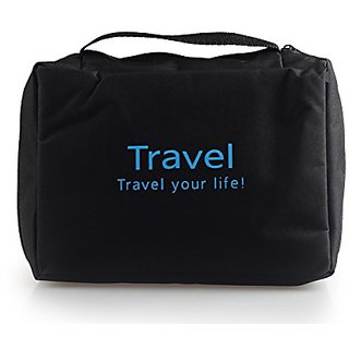 Joy Looker Travel Toiletry Bag Organizer 4 Colors Available (Black)