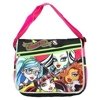 Messenger Bag - Monster High - Pink Vicious