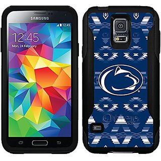 Coveroo Penn State Tribal Design Phone Case for Samsung Galaxy S5 - Retail Packaging - Black