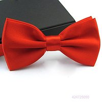 My Love My Friend Pet D1- Handmade Dog/cat Bow Tie For Medium & Large Pets (Free Attached Soft Fabric Collar) Double Lay