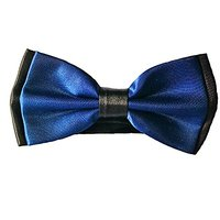 My Buddy M2 - Handmade Dog/cat Bow Tie For Medium & Large Pets (Free Attached Soft Fabric Collar) Double Layer Butterfly