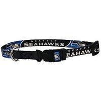 Seattle Seahawks X-Small Pet Dog Collar (X-Small)
