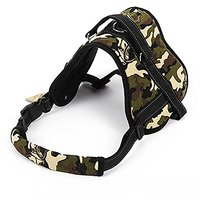 Lovely Baby Pet Soft Padded No Pull Harness With Handle For Medium And Large Dogs LY-Harness-HY01M-Camouflage
