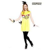 Paper Magic Teen Tween Junior Girls Angry Birds Yellow Bird Halloween Costume XL