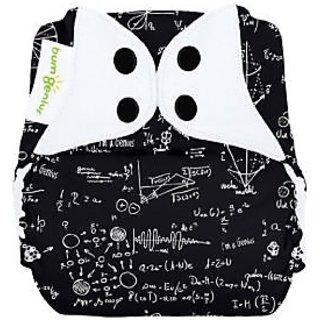 bumGenius Freetime All-In-One One-Size Snap Closure Cloth Diaper - Genius Series - Albert