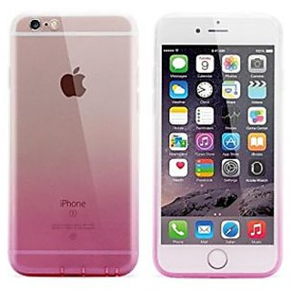 iPhone 6 Case, Vway Colorful Clear Shell Slim Case Translucent Impact Resistant Flexible TPU Soft Bumper Back Case Cover