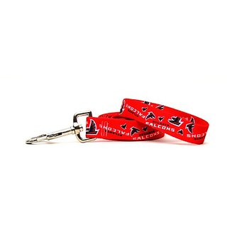 Yellow Dog Design Atlanta Falcons Licensed NFL Dog Leash, Large, 1-Inch by 60-Inch