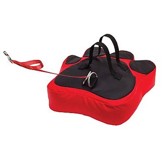 Pet n Place Portable Pet Management System, Large Paw, Red