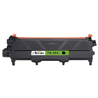 ARCON Compatible Toner Cartridge Replacement for Brother TN450 TN-450 (Black , 1-Pack)