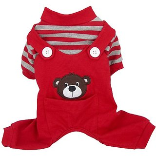 FouFou Dog Animal PJ, X-Large, Bear