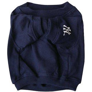 Sporty K9 NY Yankees Dog T-Shirt, XX-Small