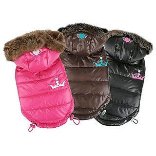 Pinkaholic New York Norwich Winter Coat, Small, Dark Pink