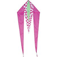 Premier Kites & Designs Fun Flyer, Mini Flo-Tail Pink Opt-Art