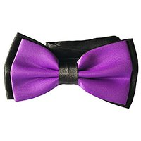 My Buddy M8 - Handmade Dog/cat Bow Tie For Medium & Large Pets (Free Attached Soft Fabric Collar) Double Layer Butterfly