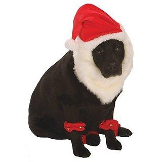 Go Dog Christmas Santa Dog Costume - XSmall