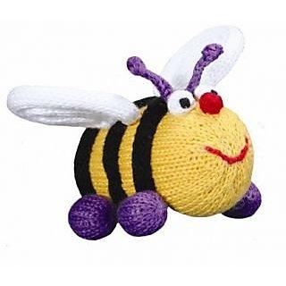 Bee Elizabeth Organic Rattle